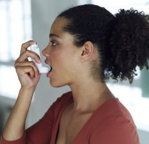 Black woman asthma